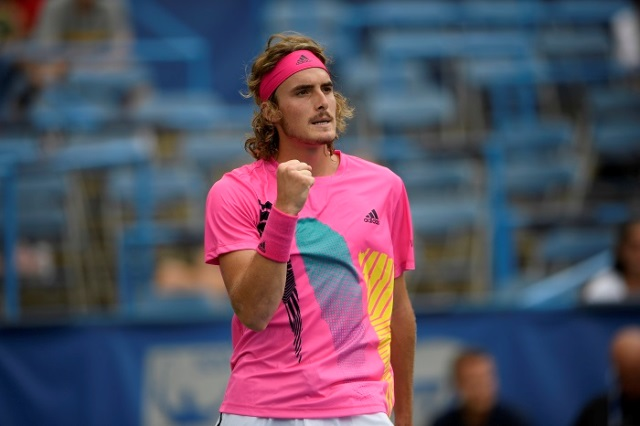 Tsitsipas Upsets Djokovic In Rogers Cup