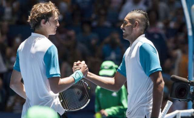 Zverev And Kyrgios Tipped For Stardom
