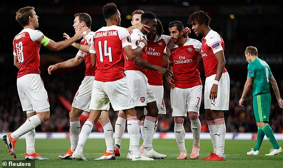 Europa: Iwobi Bags Assist In Arsenal Win; Odey Wins With FC Zurich As Kalu Features In Bordeaux Defeat