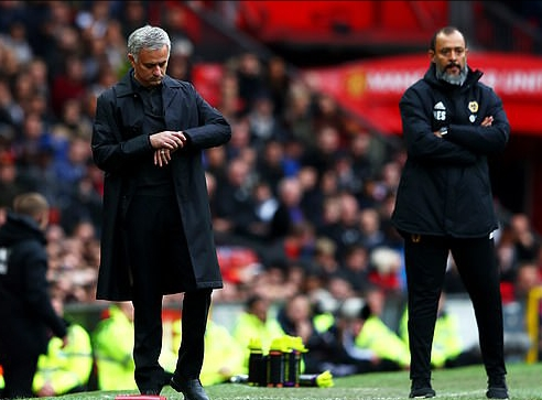 Mourinho Blasts Man United Players For Poor Showing In Home Draw Vs Wolves