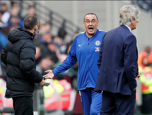 Carabao Cup: Chelsea Boss Sarri Expects Tough Clash Vs Rampant Liverpool