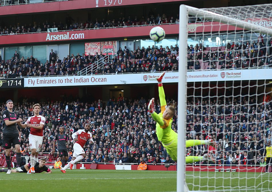 Iwobi Subbed On As Arsenal Edge Everton At The Emirates