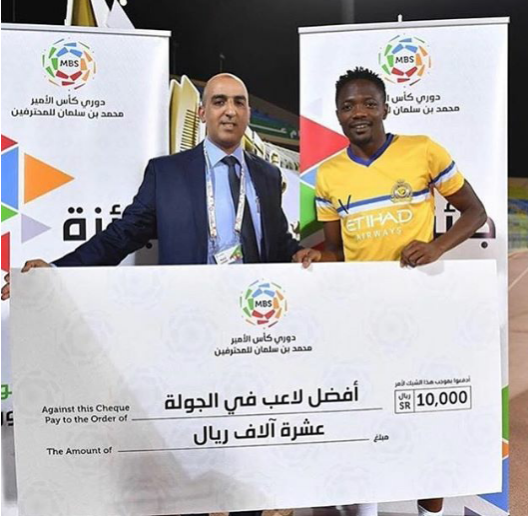 Musa Wins Saudi League Player Of The Week Award