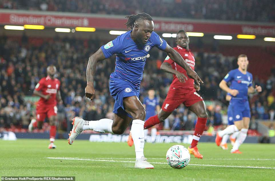 Moses' Return To Action For Chelsea Excites Balogun