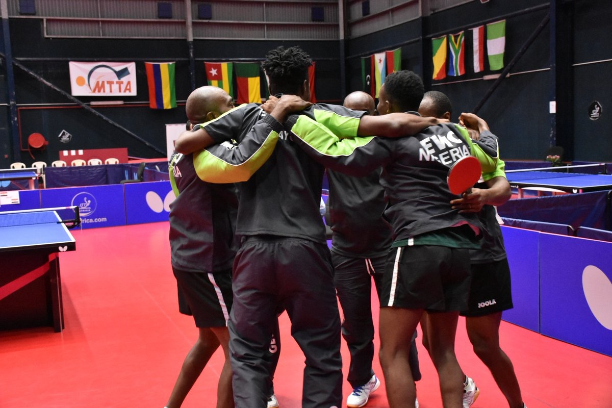 2018 ITTF Africa: Aruna Shines As Nigeria's Men's Team Beat Egypt To Win Gold, Women's Team Lose