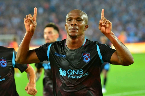 Nwakaeme Relishes Brace, Onazi Impact In New Trabzonspor Career