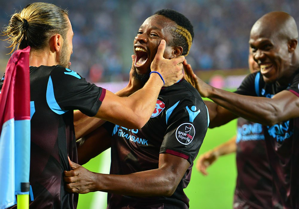 Round-up: Nwakaeme Hits Brace, Onazi Also on Target In Trabzonspor Win; Uzoho, Moses Missing; Omeruo, Balogun Benched
