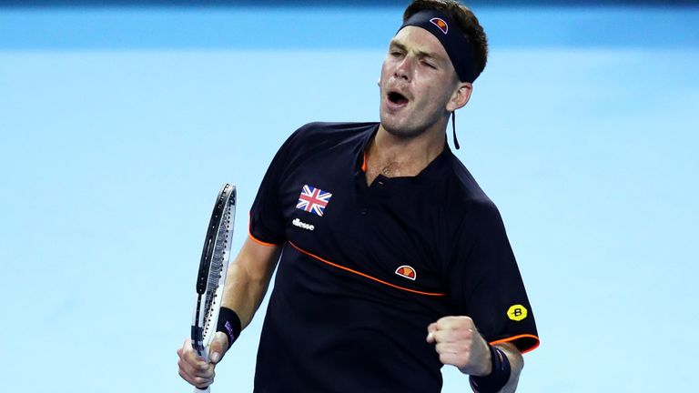 Norrie Seals Davis Cup Win For GB