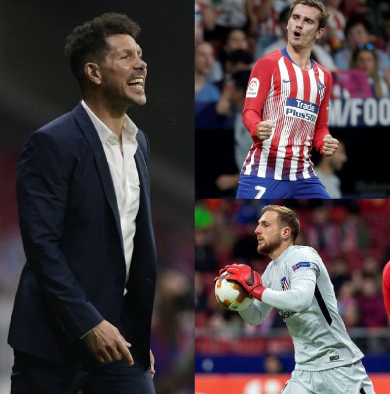 Simeone: Atletic Now At Level With Real Madrid, Barca; Griezmann,  Oblak World Best
