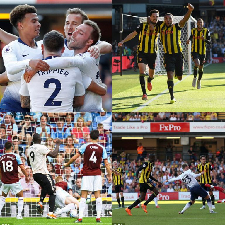 Lukaku Bags Brace In Man United's Win At Burnley; Success Subbed On As Watford Pip Tottenham In London Derby