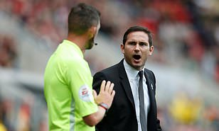 Derby Coach Lampard Accepts  £2K Fine For Improper Conduct, Decries Refs' Inconsistency