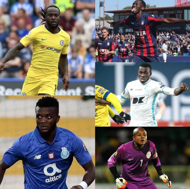 5 Nigerian Players Who Should Have Moved Away From Their  Current Clubs