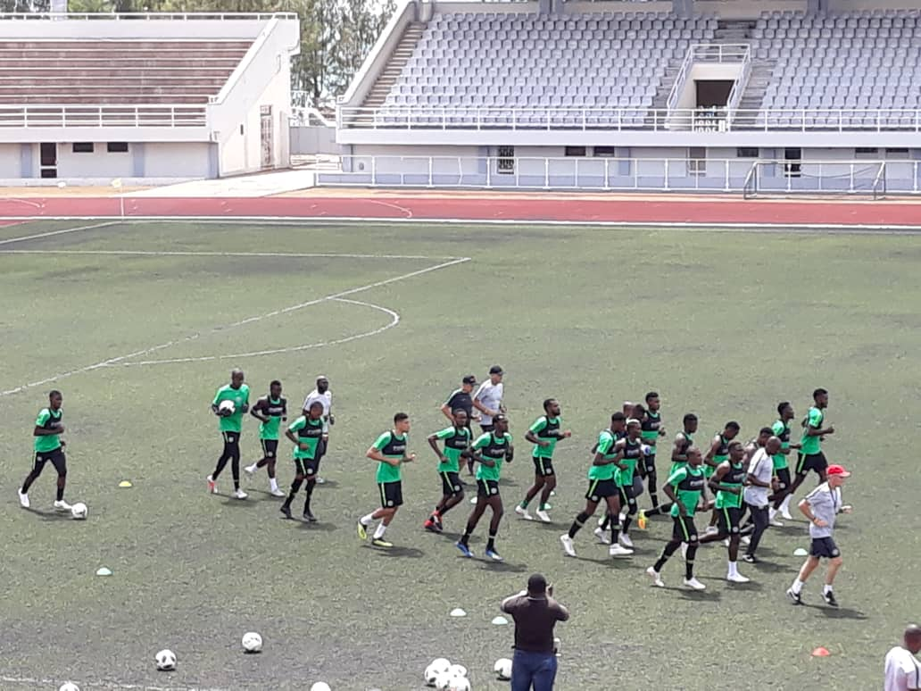 Super Eagles Begin Training Tuesday Ahead Libya Clash