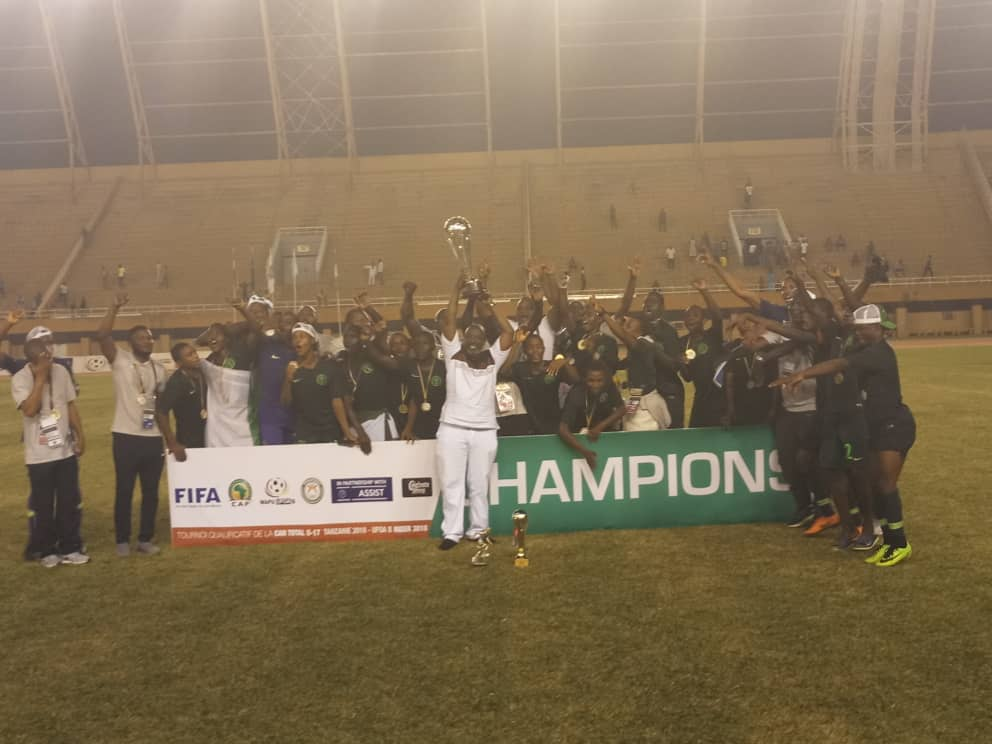 Golden Eaglets Beat Ghana, Qualify For 2019 U-17 AFCON