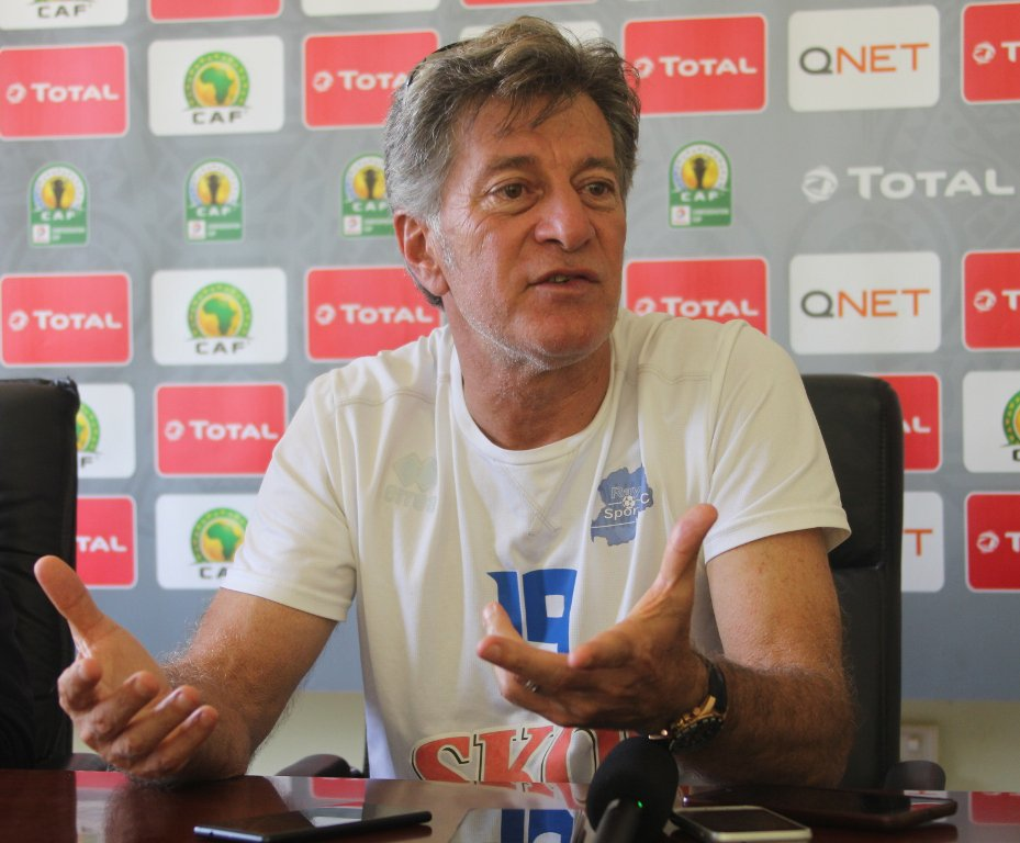 Rayon Sports Coach, Do Carmo: Enyimba Clash In CAFCC Big Test For My Players