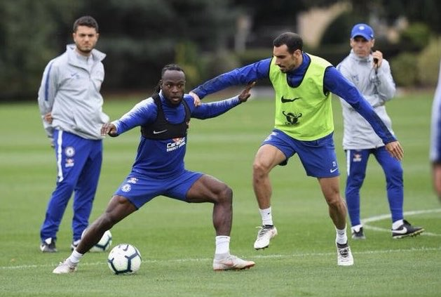 Moses Named In Chelsea's Europa League Squad To Face PAOK