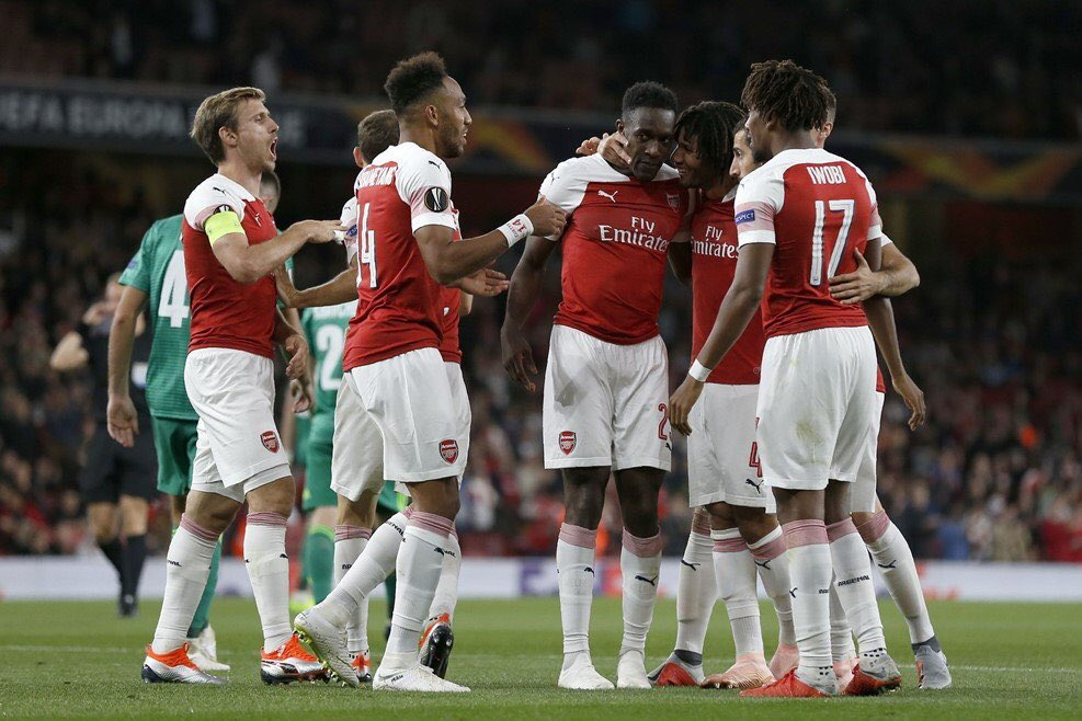 Iwobi: Great To Start Europa League With Win
