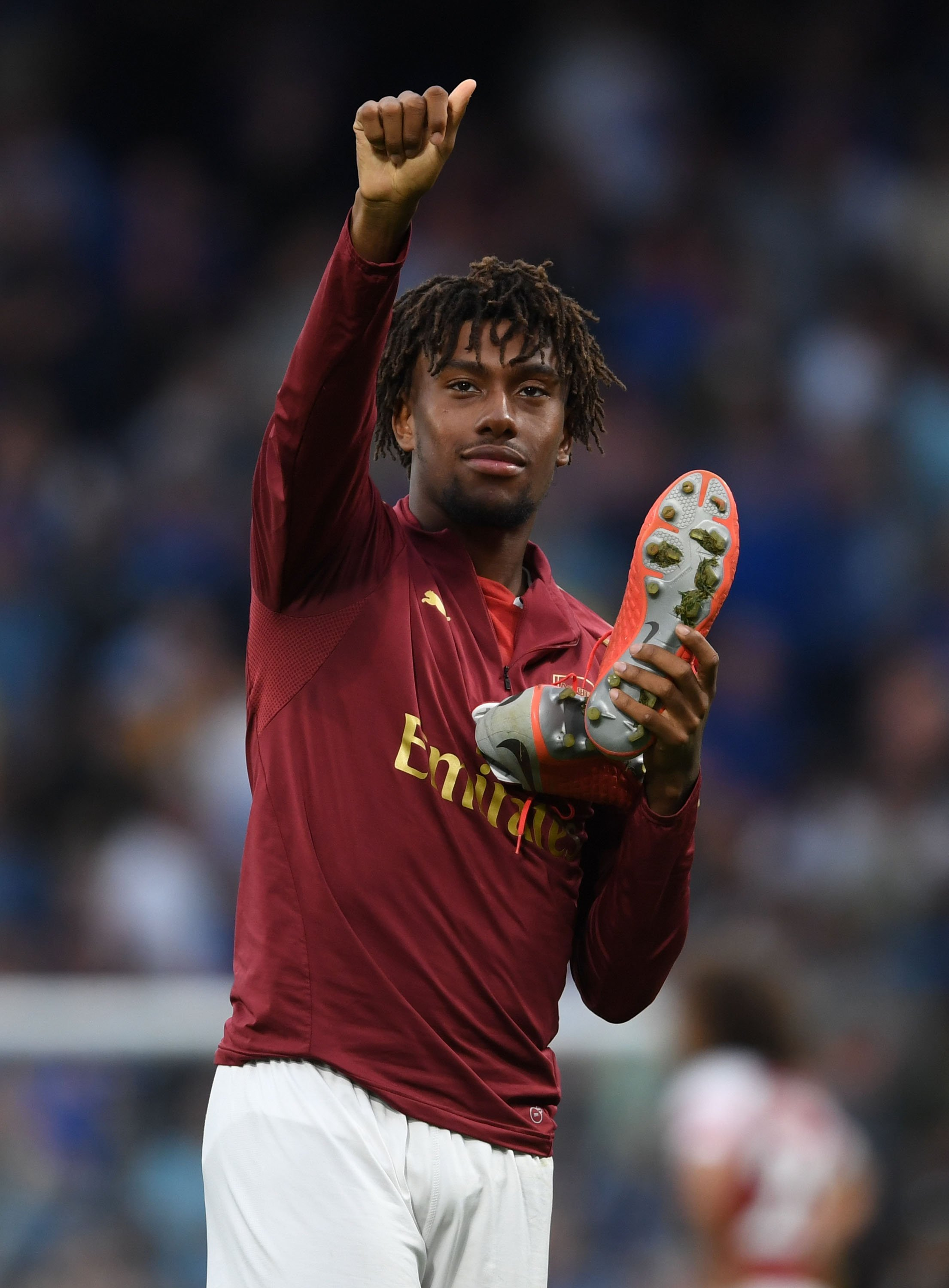 Iwobi Up For Arsenal's September Player Of The Month Award