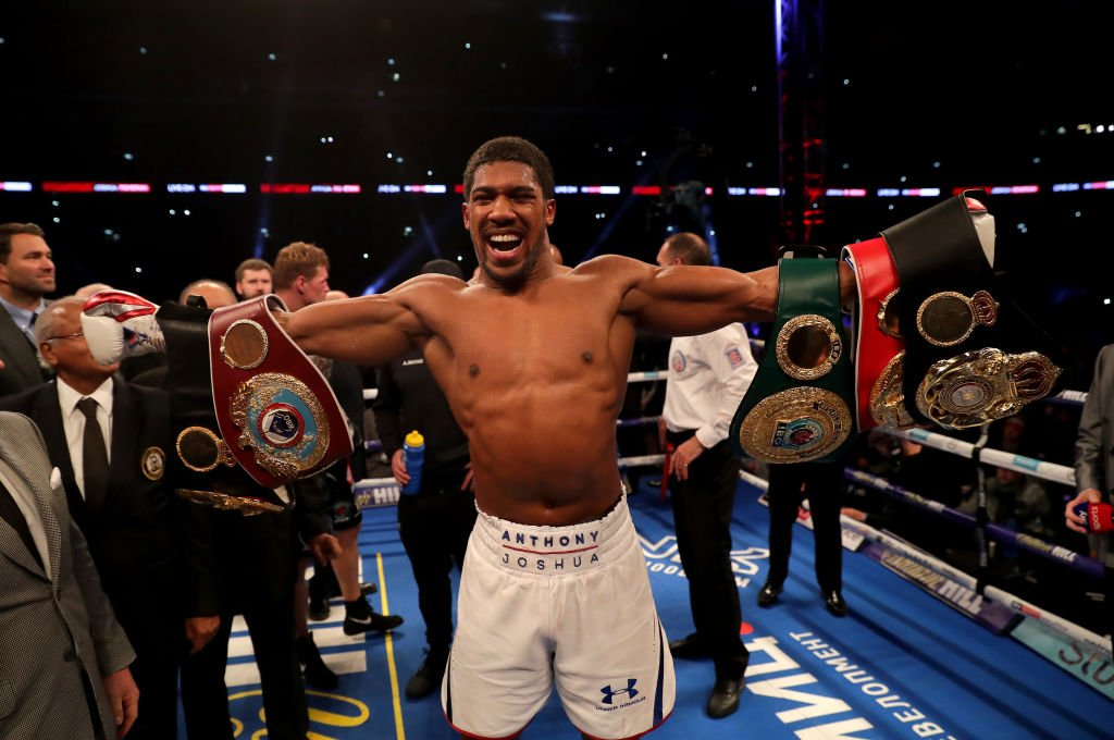 Kanu, Odemwingie Congratulate Joshua On Victory Over Povetkin