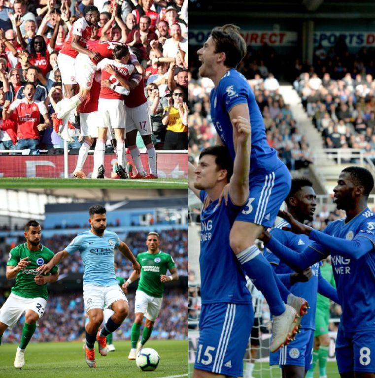 Success Subbed On As Iwobi Bags 11th EPL Assist In Arsenal Win Vs Wartford; Iheanacho, Ndidi Star In Leicester Win; Balogun Benched