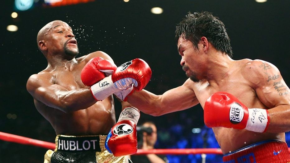 Pac-Man Open To Mayweather Rematch