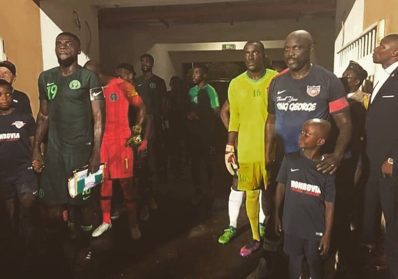 Ogu Happy To Captain Super Eagles Vs President Weah's Lone Star