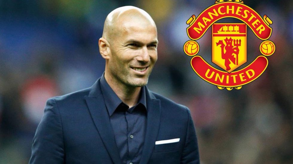 Zidane Preparing For United Job