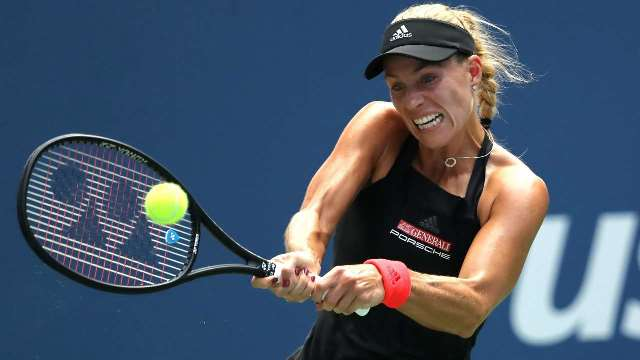 Kerber's US Open Run Ended