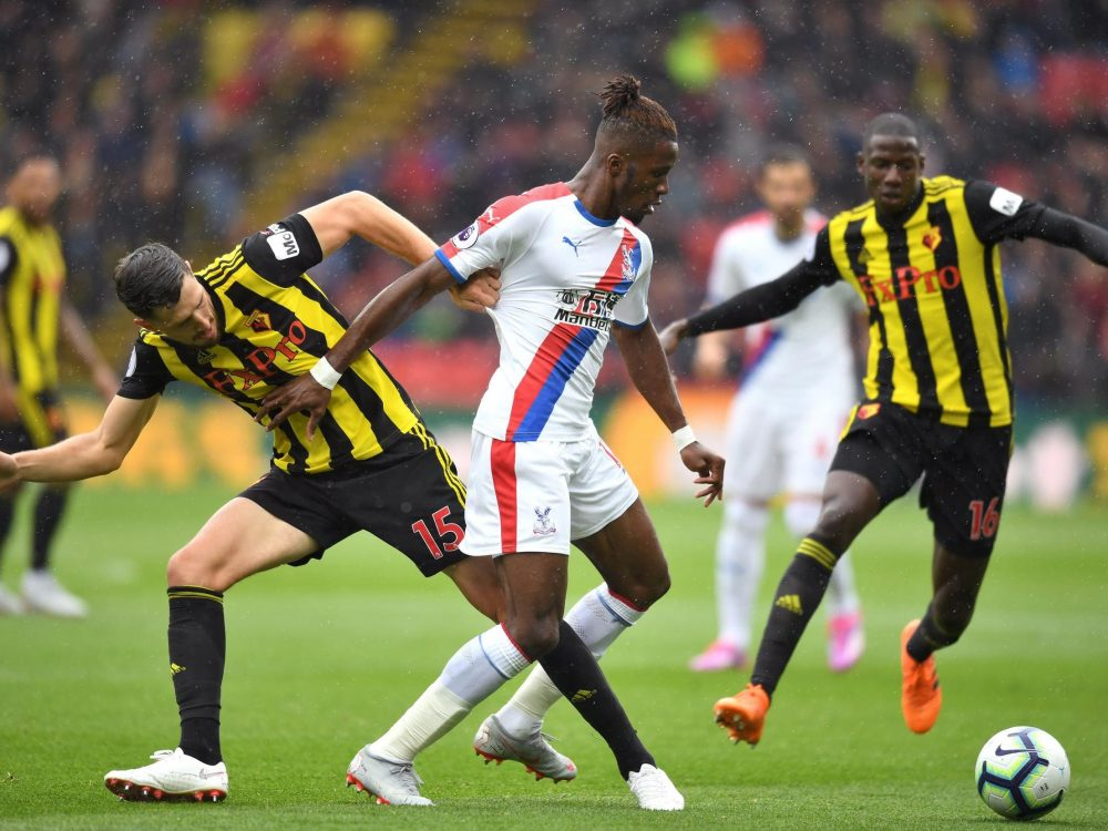 Deeney Admits Zaha Was Targeted