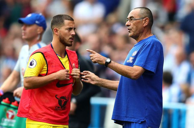 Hazard Hails Sarri Methods