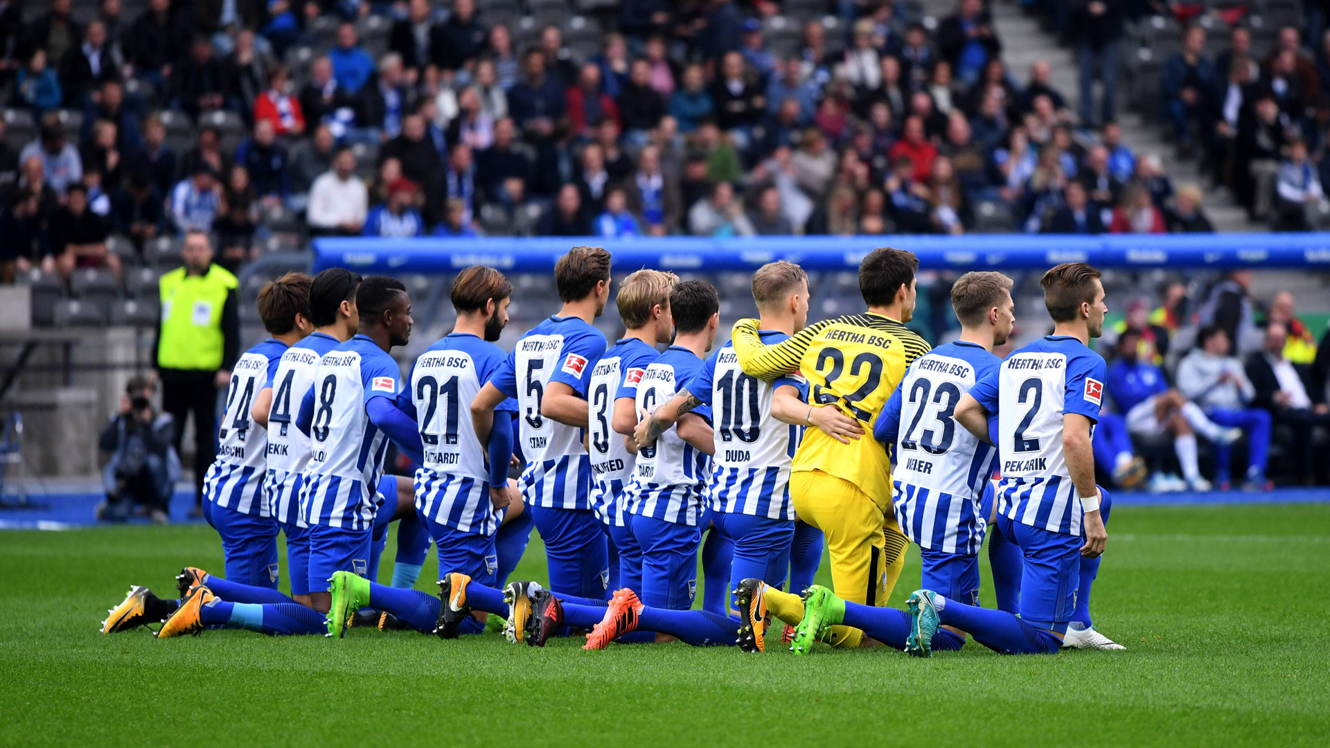 Hertha Progress Pleases Dardai