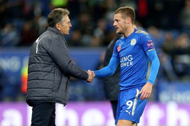 Puel Happy With Vardy Comeback