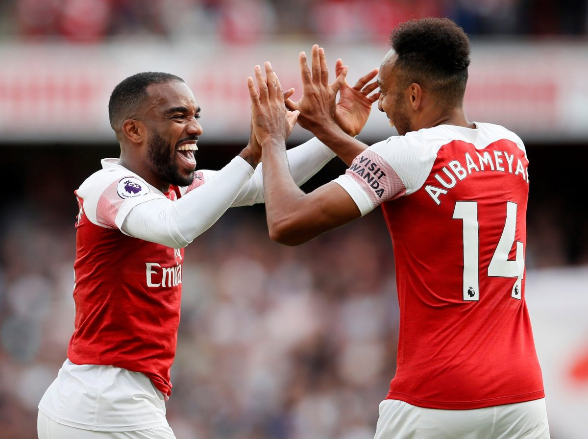 Lacazette Backs Aubameyang Partnership