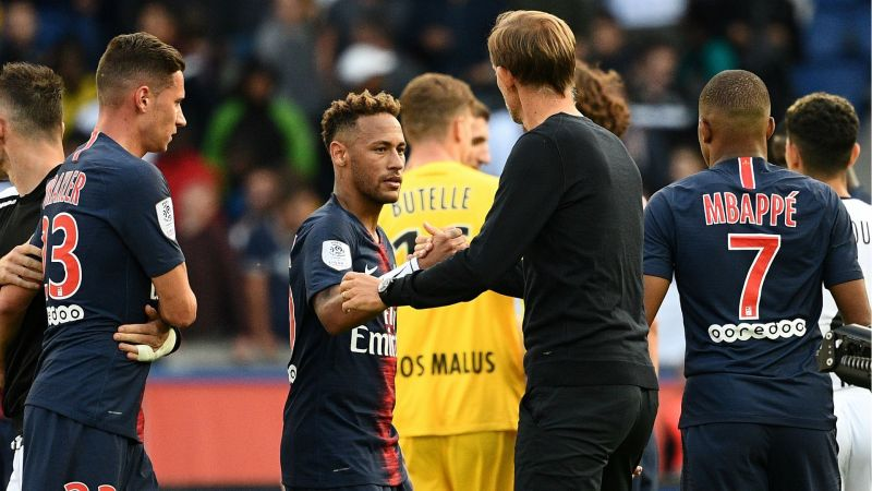 Neymar Plays Down Tuchel Rift Claims