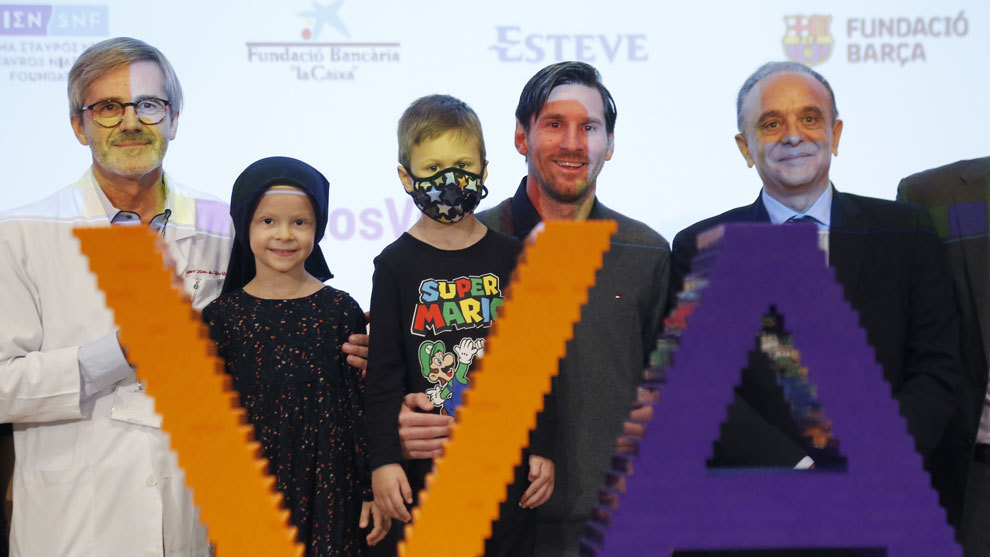 Messi Lays Foundations For €30m Children's Cancer Centre