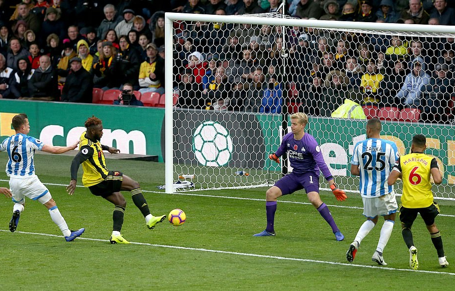 Success Bags 1st EPL Goal Of Season In Watford Win, Balogun Benched Again As Brighton Pip Wolves
