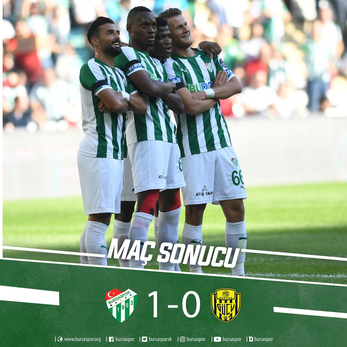 Shehu Relishes Bursaspor's First League Win Vs Ankaragucu