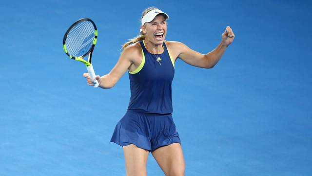 Wozniacki Faces Czech And Ukrainian Rivals