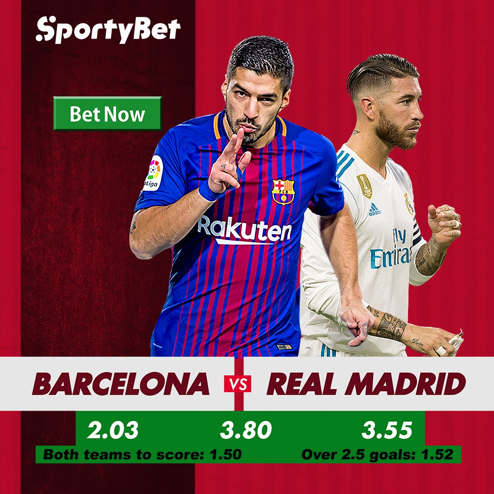El Clasico Barcelona Vs Real Madrid Betting Preview