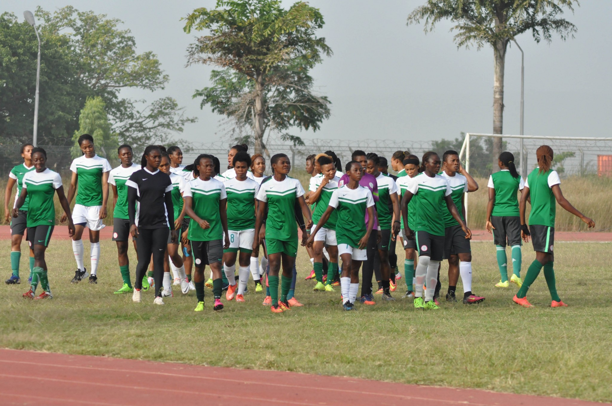 2018 AWCON: Dennerby Drops 14 Players as Super Falcons Intensifies Training