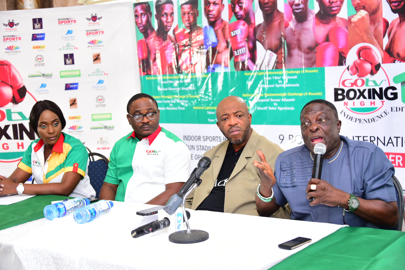NBB of C Boss, Ladipo: GOtv Boxing Night Has Earned Nigerian Boxers Commonwealth Rating