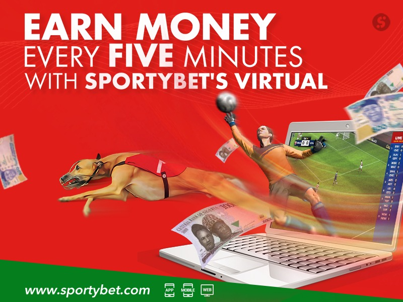 Earn Money Every Five Minutes With SportyBet's Virtual