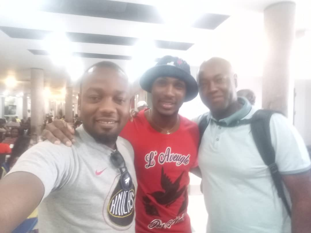 Ighalo Arrives, Flies To Uyo From Lagos With Complete Sports