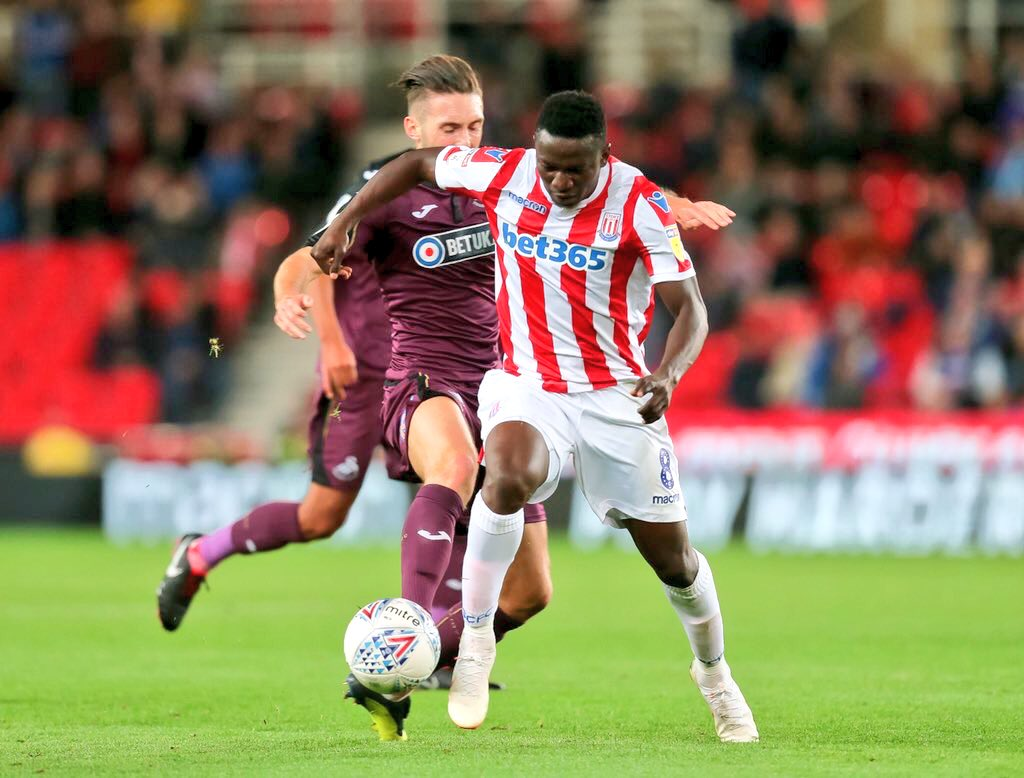 Stoke Coach Rowett Hints Etebo In Good Shape For Bristol City Clash