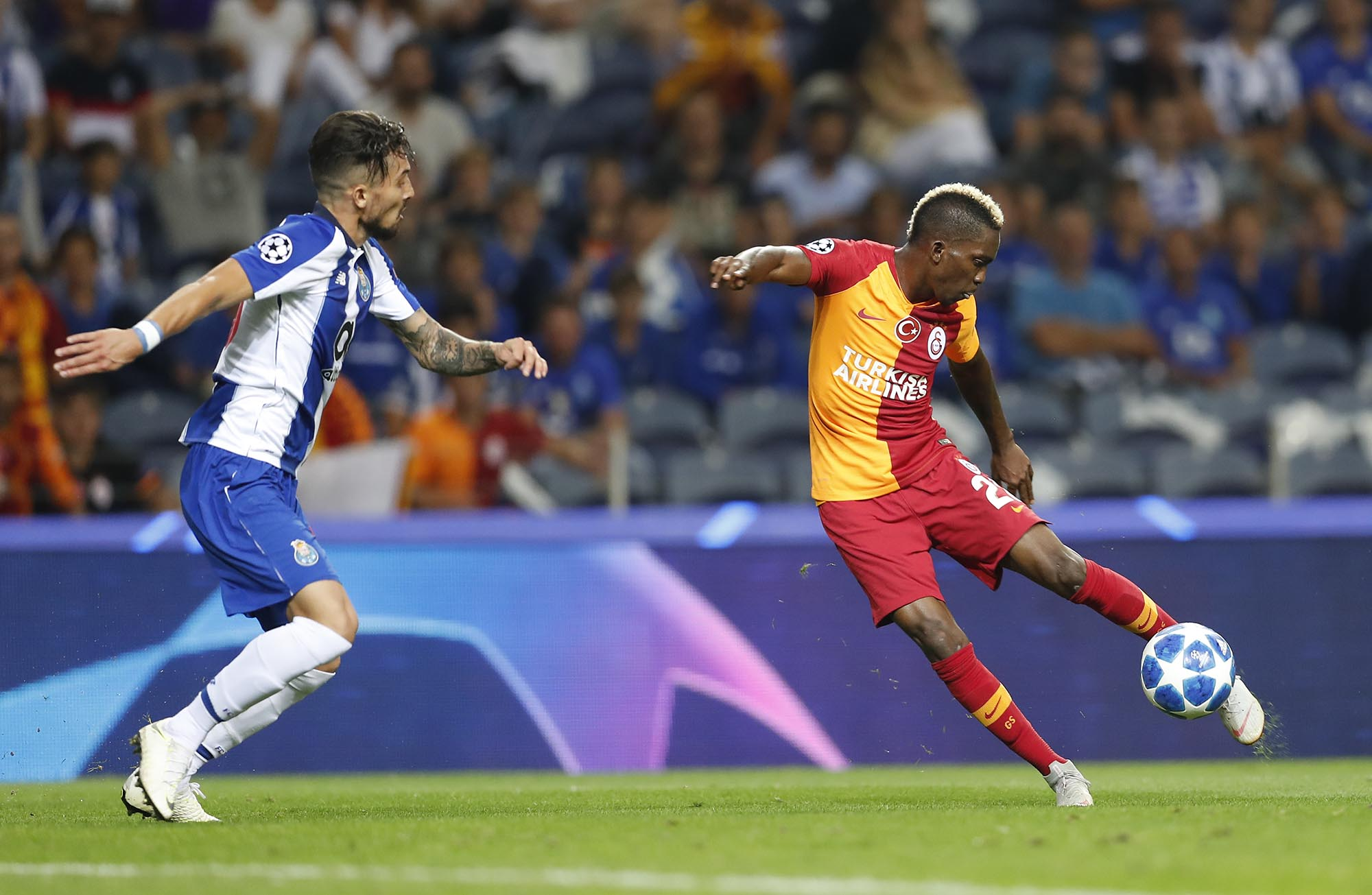 UCL: Onyekuru Fails To Rescue Galatasaray From Defeat; Awaziem Benched
