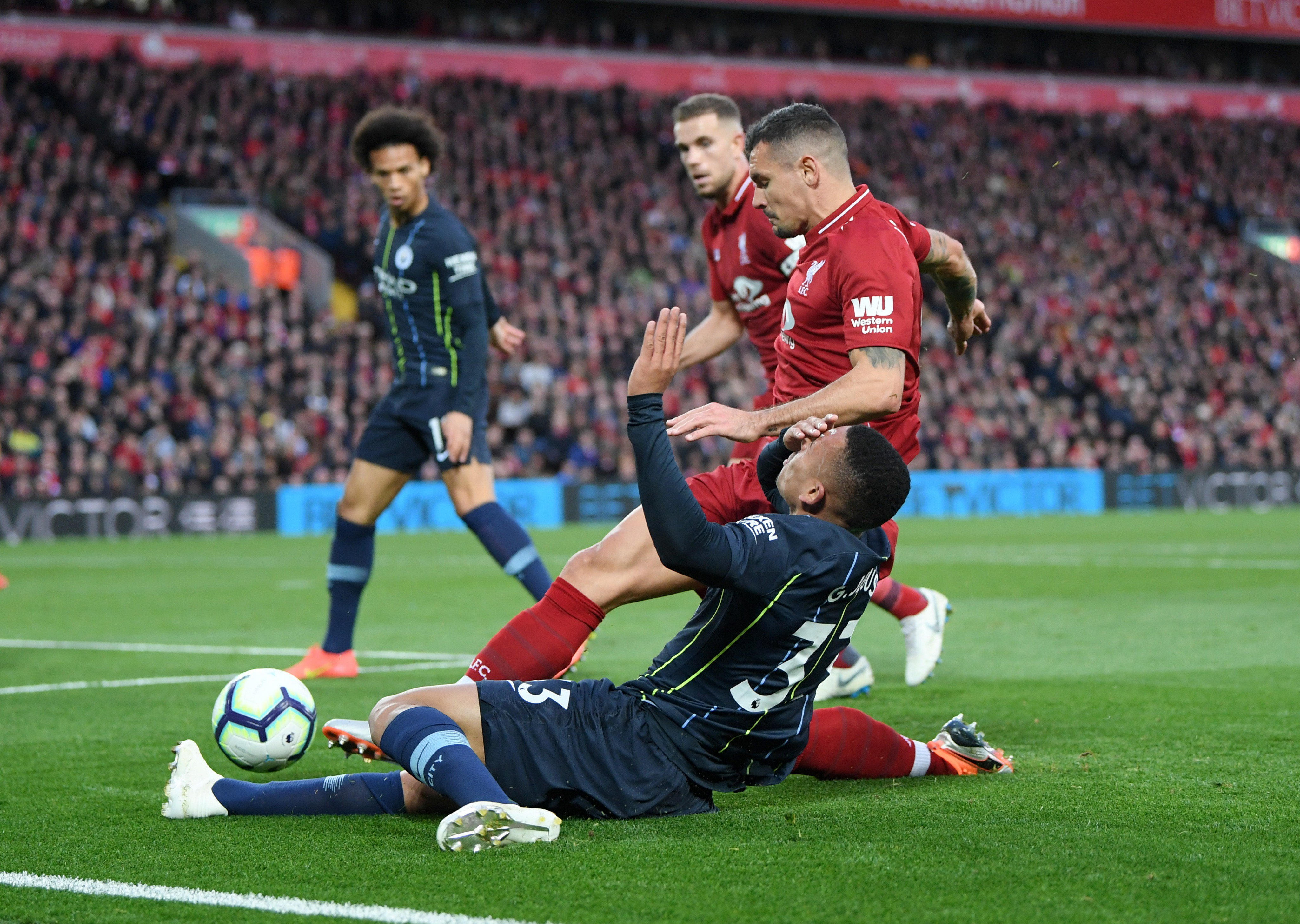 Mahrez Misses Late Penalty As City Hold Liverpool At Anfield