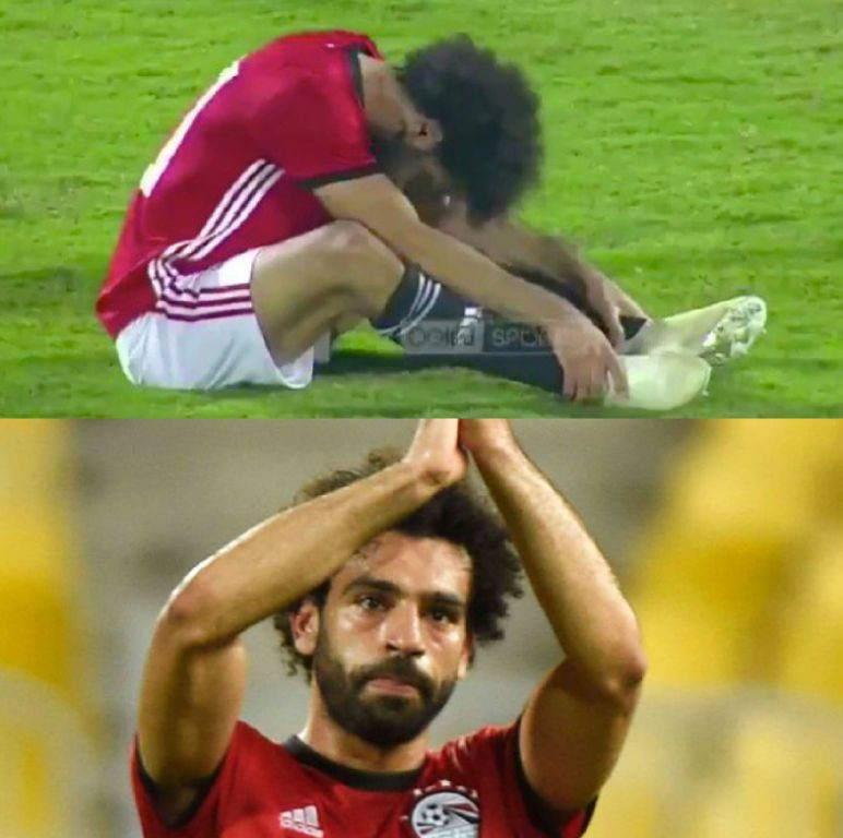 Salah Nets Historic Goal, Subbed Off Injured In Egypt Win Vs Swaziland