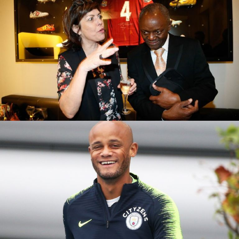 Kompany Thrilled As Father Becomes Belgium's First Black Mayor