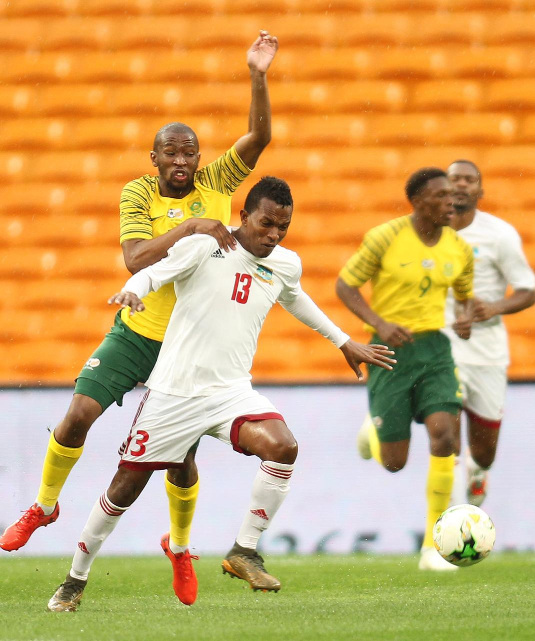 AFCON 2019 Qualifiers: Seychelles Hold Bafana In Victoria, Bag First Point