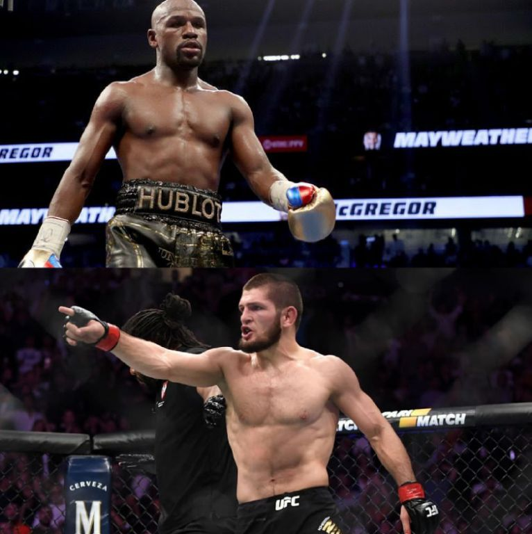 Mayweather Declares Fight With UFC Champion Khabib Will Happen